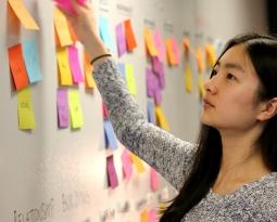 Student mindmapping